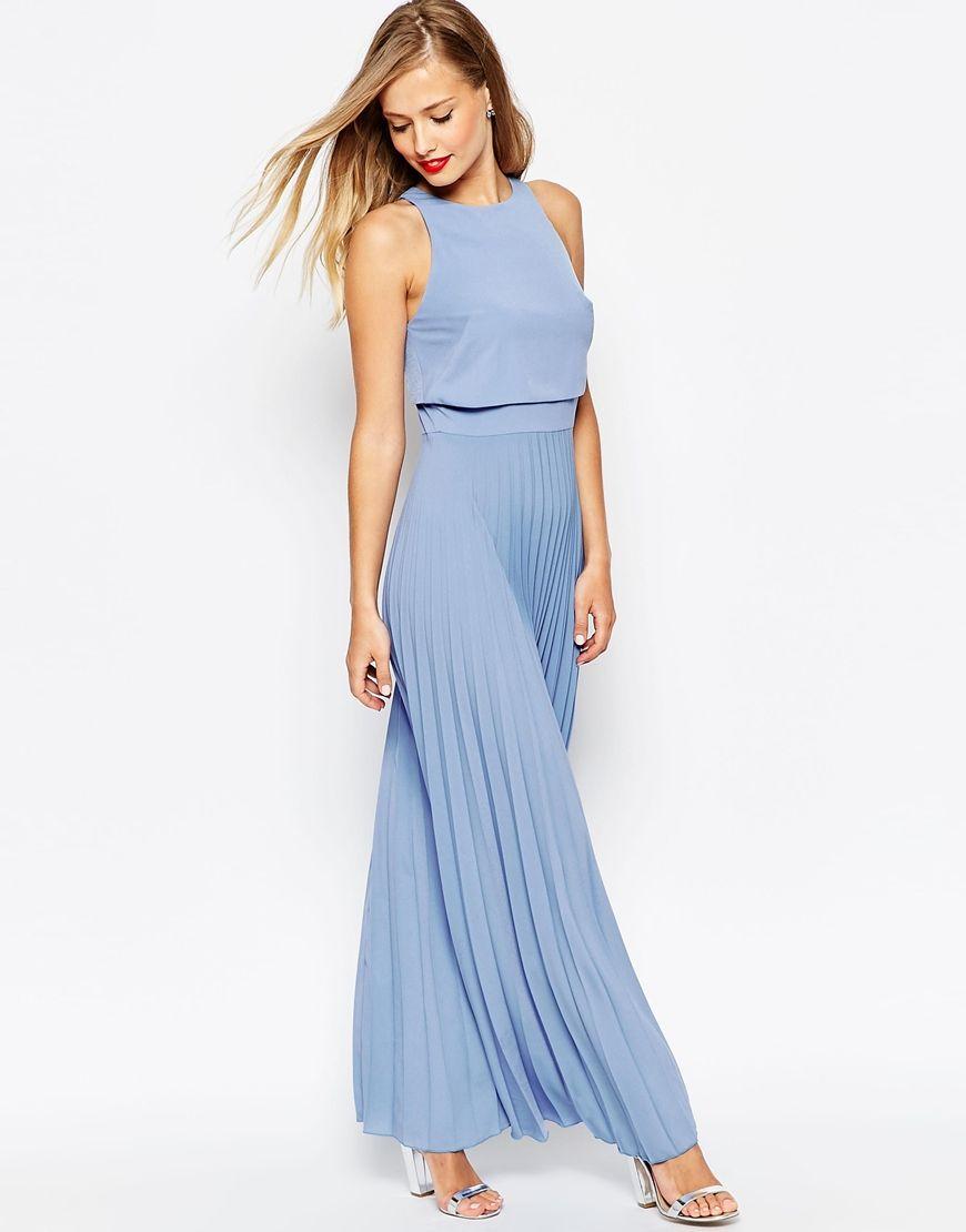 Summer Wedding Guest Dresses | Blue maxi dresses, Blue maxi and Maxi ...