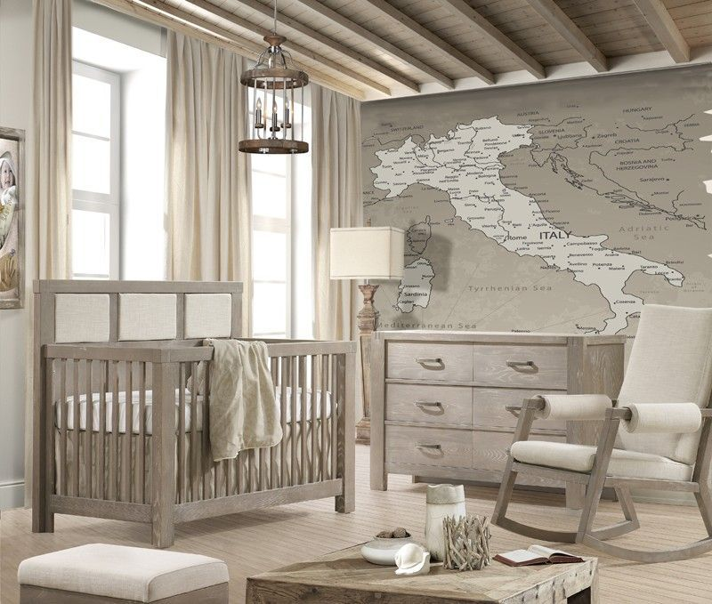 charmante babym bel mit rustikalem touch baybyzimmer pinterest kinderzimmer baby. Black Bedroom Furniture Sets. Home Design Ideas