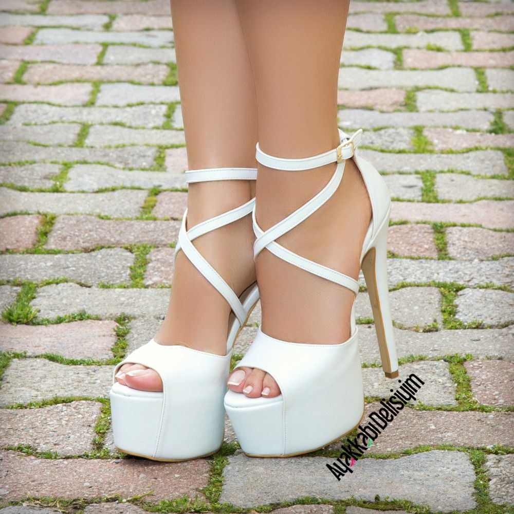 Wedding Heels Bridal Topuklu Ayakkabi Heels Platform Pumps Heels Gorgeous Shoes