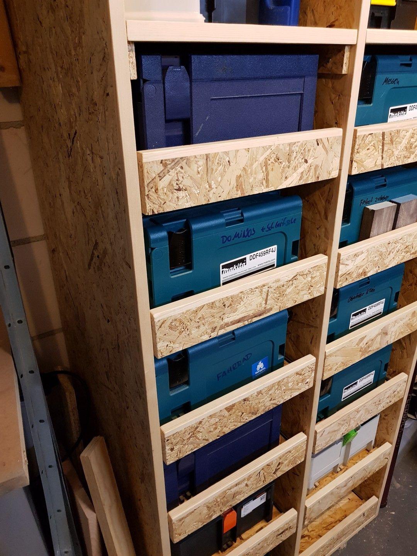 Systainer Cabinet Schrank Festool Osb Werkstatt Workshop