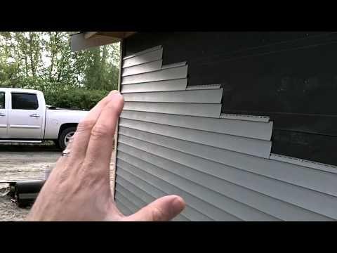 How to Install Vinyl Siding - YouTube | house in 2019 | Vinyl siding