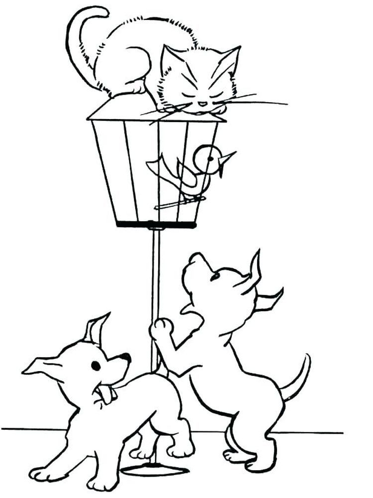 Dog Coloring Pages For 9 Year Olds Dogs Are Man S Best Friend The Relationship Between Dogs And Hum Dog Coloring Page Cat Coloring Page Family Coloring Pages