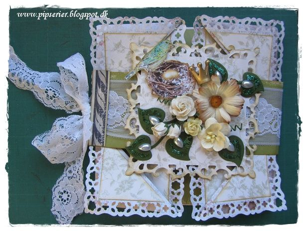 pipserier: napkin-fold card 2