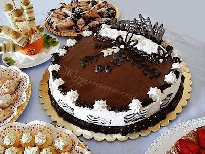 Torte con la panna decorate cerca con google torte for Torte di compleanno al cioccolato decorazioni