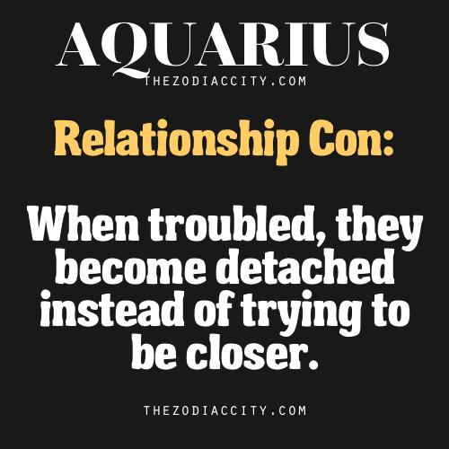 Summary of Aquarius compatibility