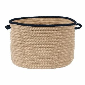 Exceptional Boat House Storage Basket   Navy, ...