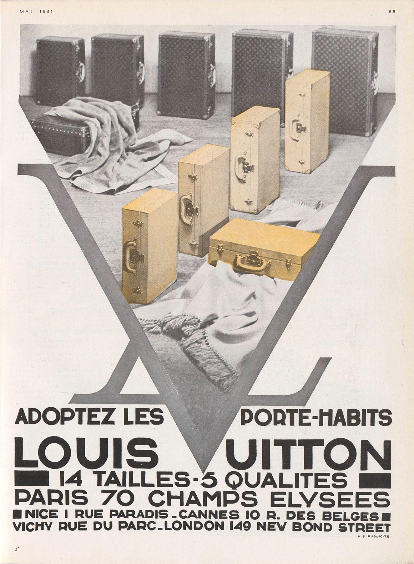 louis vuitton vintage ads majesty