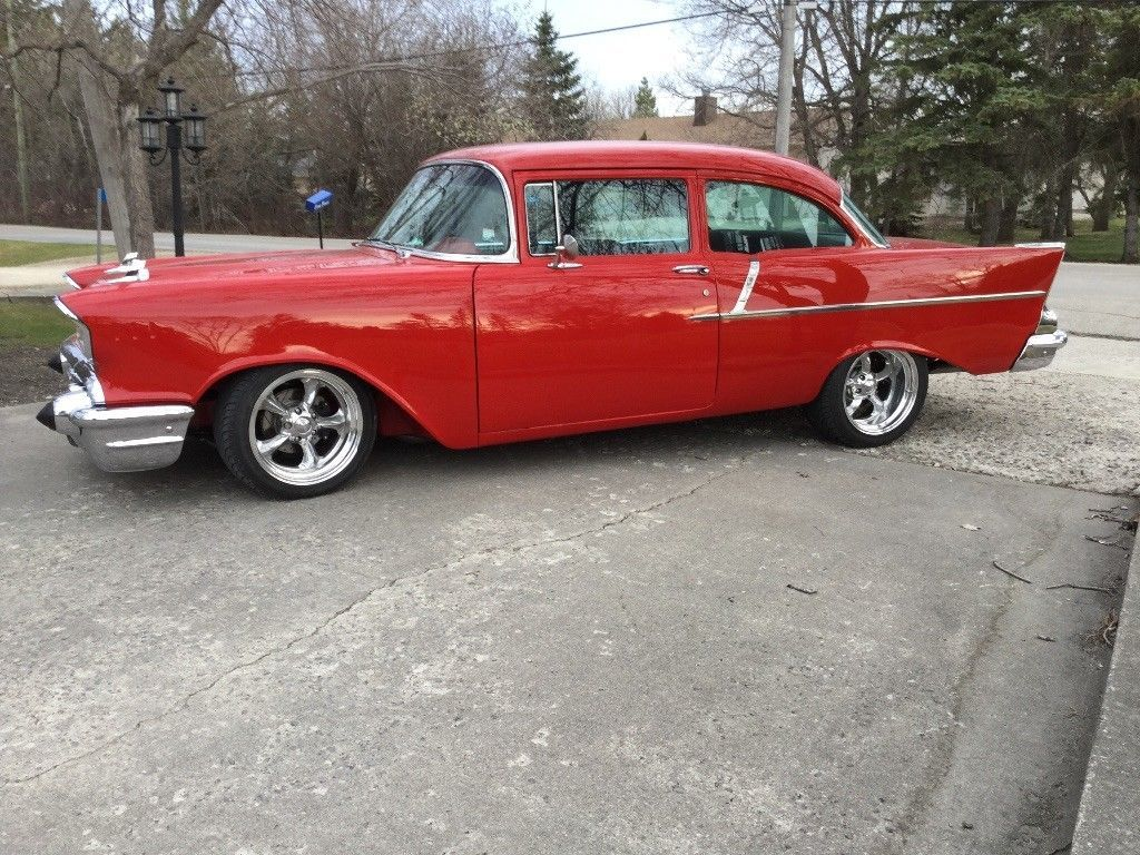 Details About 1957 Chevrolet Bel Air 150 210 383 V8 Great Driving