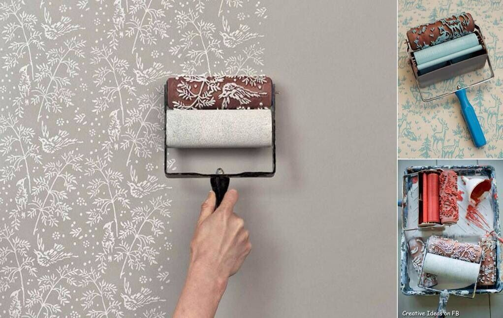 This is very cool and nice too give your wall painting a nice touch. Got it from architecture and design facebook.