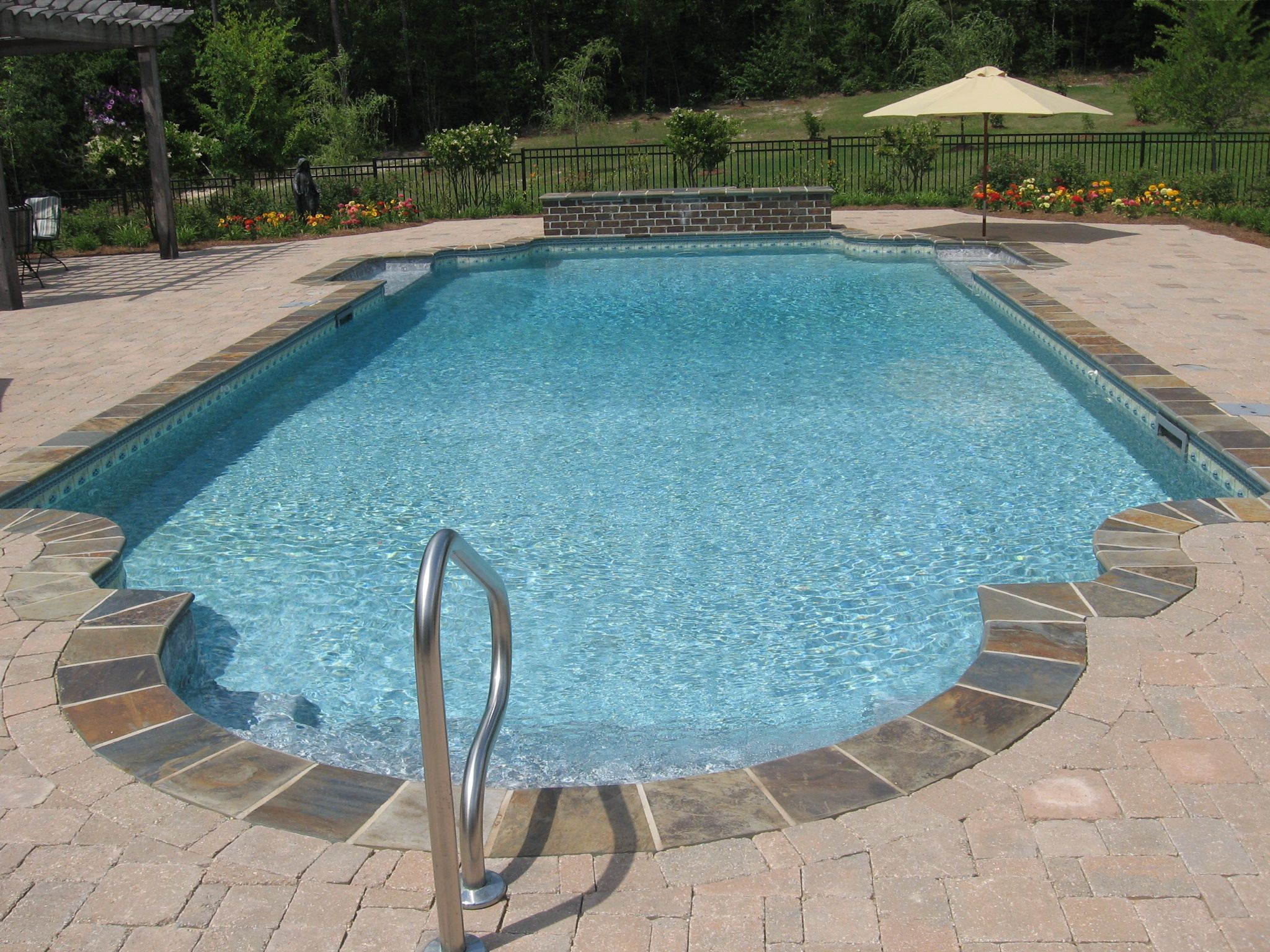 Backyard fun swimming pool ideas pool houses pinterest Backyard swimming pools