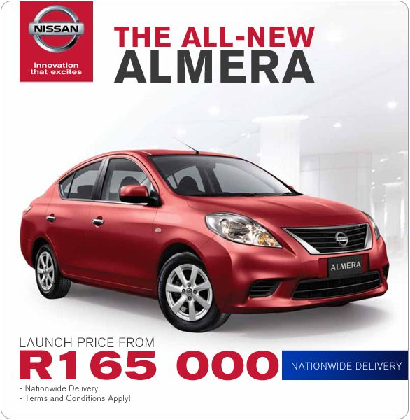 The All New Fuel Efficient And Feature Packed Nissan Almera Now Selling From R 165 000 With Nationwide Delivery Available Check It Out