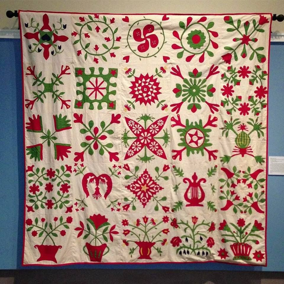 Baltimore Album Quilt, seen at the Virginia Historical Society ... : historical quilts - Adamdwight.com