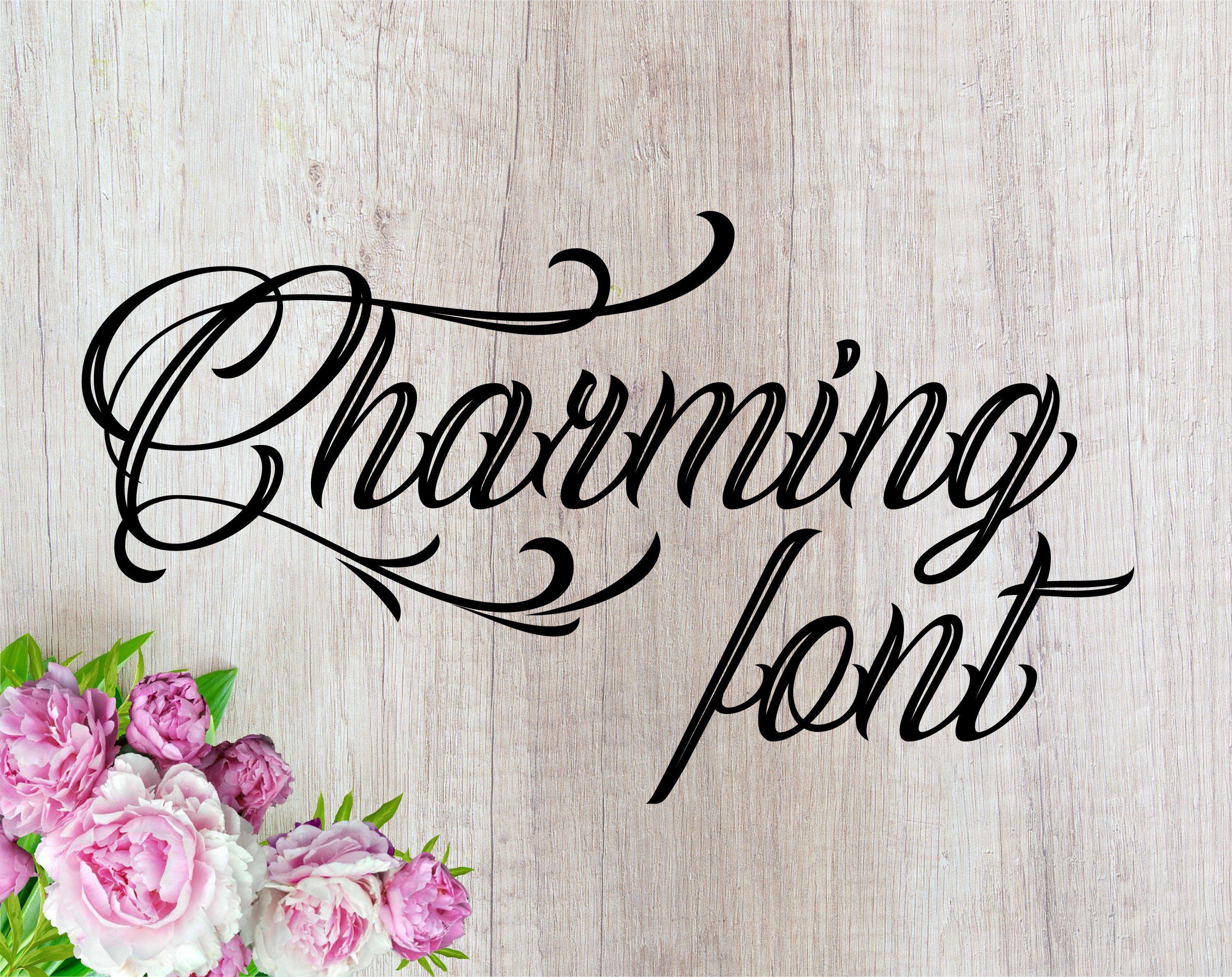 Download Charming font cursive font svg font svg font otf svg fonts ...