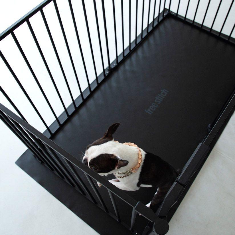 楽天市場 犬 サークル サークル シート レクタングル L ホワイト ケージ ゲージ シート 簡単 かんたん ドッグ犬用品 サークル スタイリッシュ シンプル マット Free Stitch ゲージ 犬 犬 ペット用品