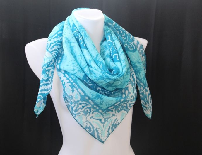 100 Cotton Scarf Natural Fabric And Dye Scarves Wrap Gifts Under 20