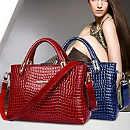 PARIS European Fashion Crocodile Pattern Single Shoulder Handbag  YC162(Black,Blue,Red) cb79b90fc4