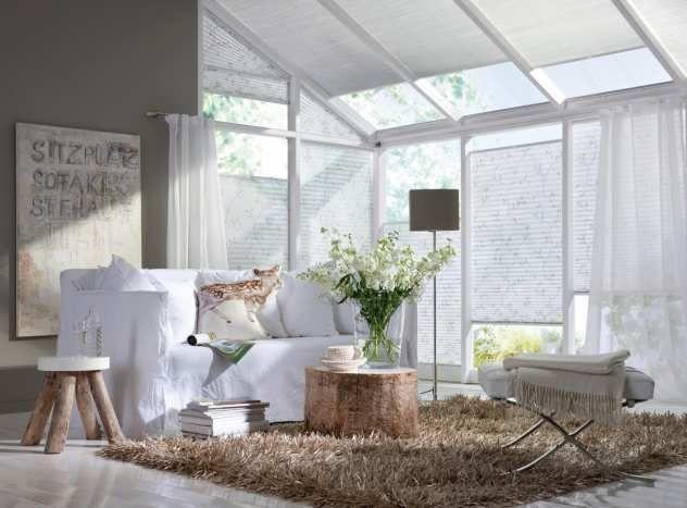 """plissee """"faltstore"""" sonnenschutz für glasfassaden von teba, Hause deko"""