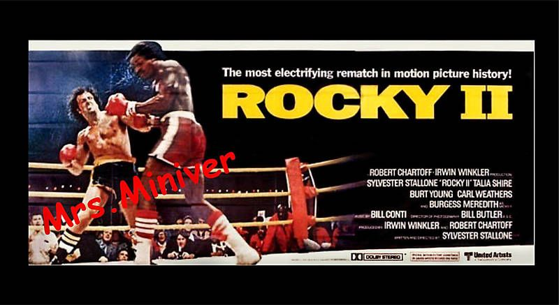 rocky movie poster font