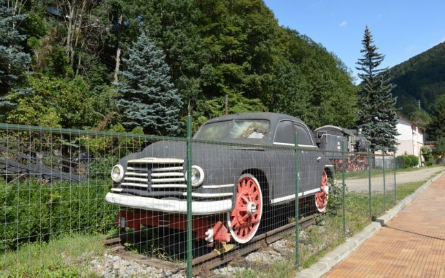 Skoda VOS - a railroad version of the VOS designed for the infamous communist celebrity Ana Pauker