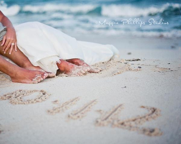 Houston Photographer Maggie Phillips Beach Wedding Photography