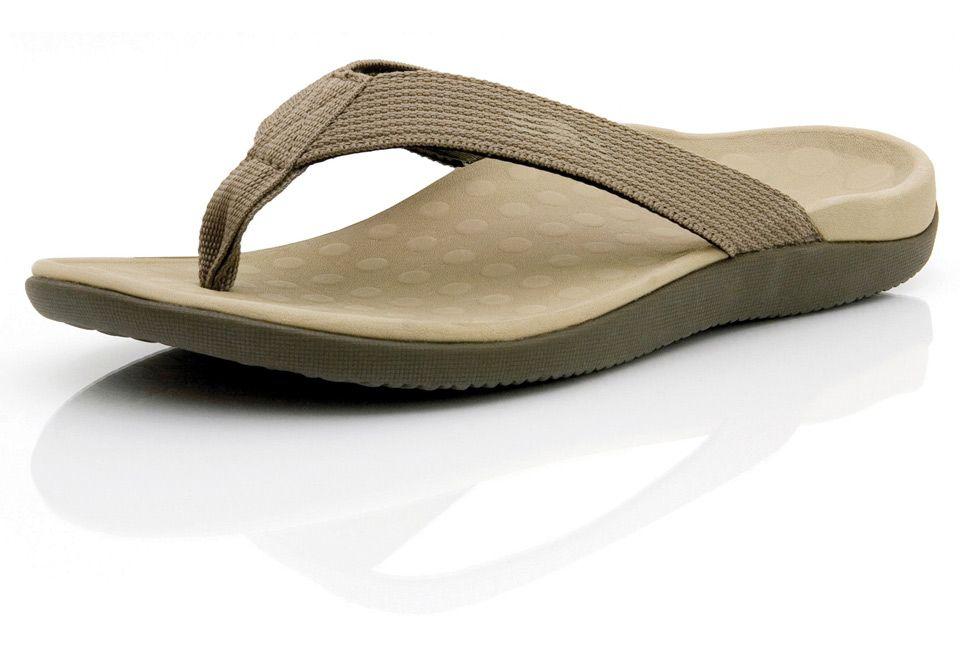 best service ee8b8 8b503 Plantar Fasciitis Pain Relieving Sandals Khaki