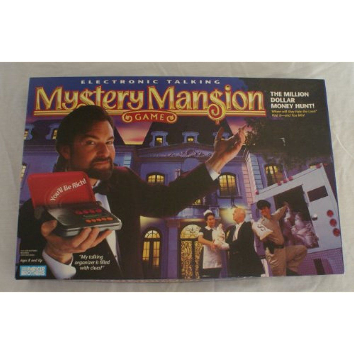 Mystery Mansion Electronic Talking Board Game * Read more