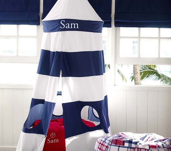 Lighthouse Tent For A Nautical Themed Children S Room