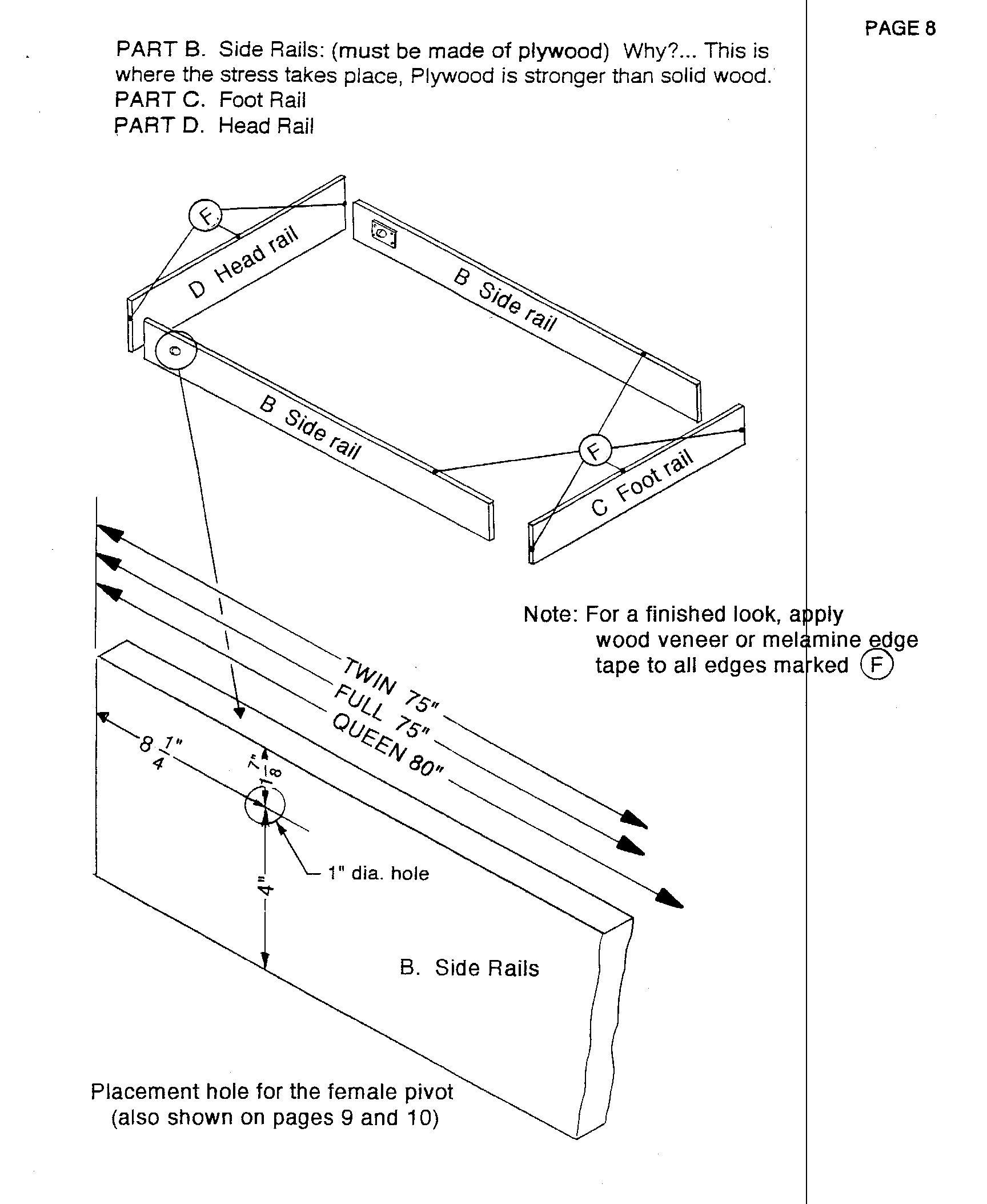 Camas abatibles createabed manual cama abatible f cil de for Manual para hacer muebles