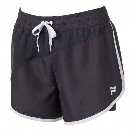 Pantaloneta Fila Deportiva Lycra Incorporada Para Dama Pantalones Cortos Para Correr Vestuarios Deportivos Ropa De Moda