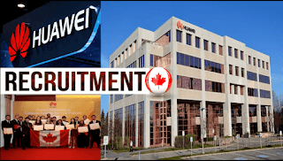 Recruitment At Huawei Company Canada Recruitment Company Huawei