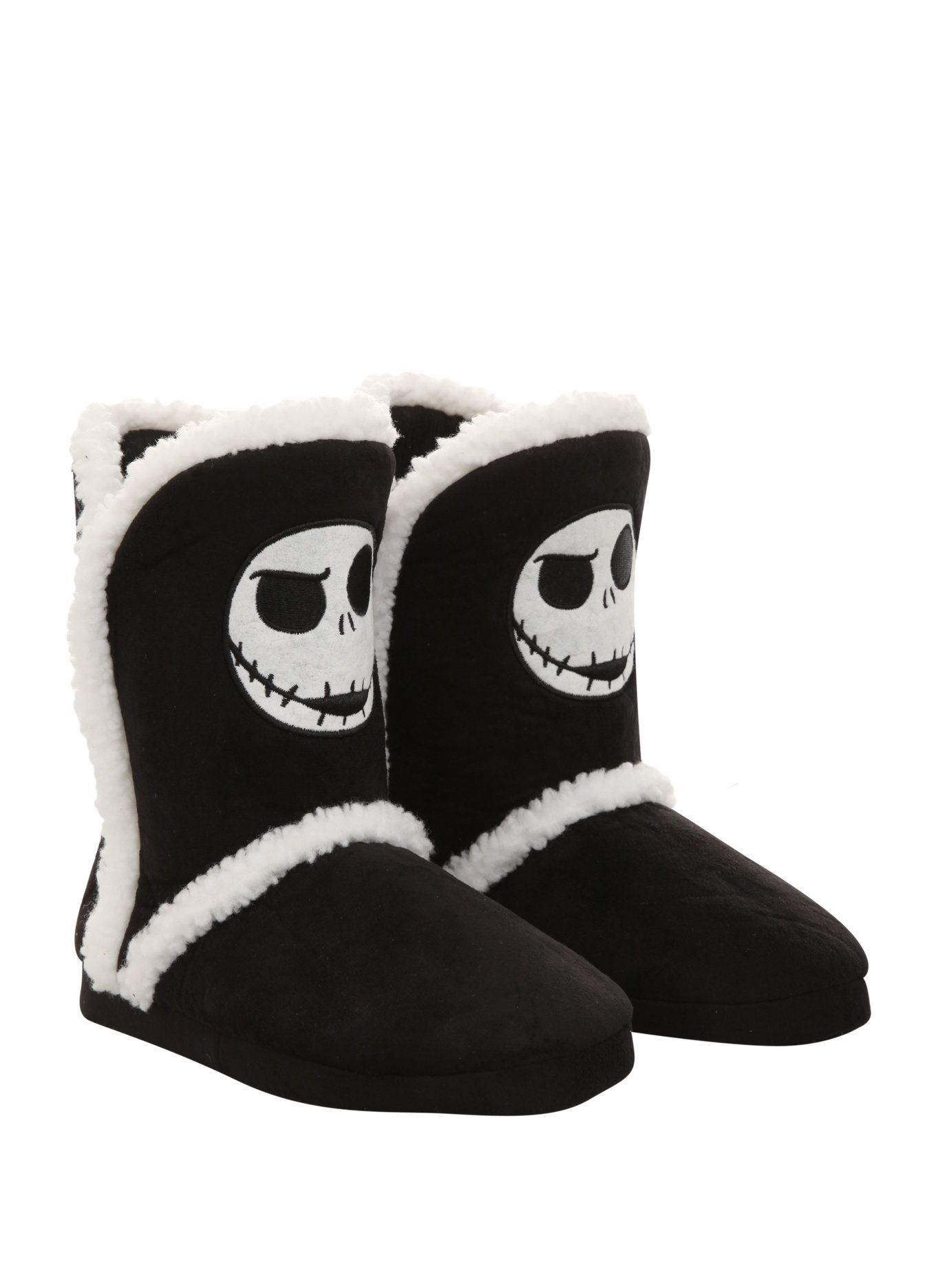 The Nightmare Before Christmas Jack Slipper Boots on Wanelo | Skulls ...