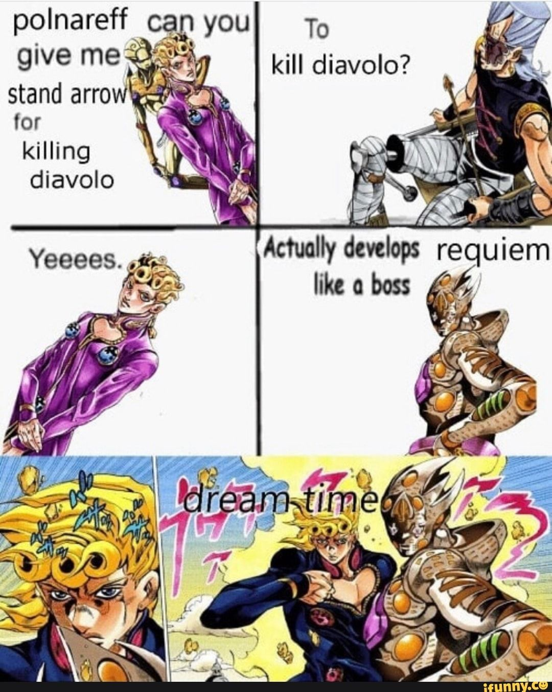 Pin On Hehe Giorno's hair was initially black, but it turned gold after his stand had fully awakened. pin on hehe