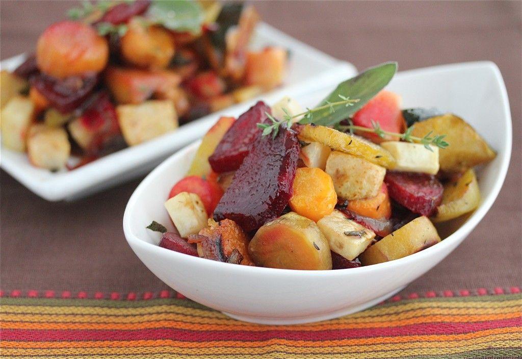 roasted root vegetables recipe roasted vegetables oven thyme recipes roasted root veggies pinterest