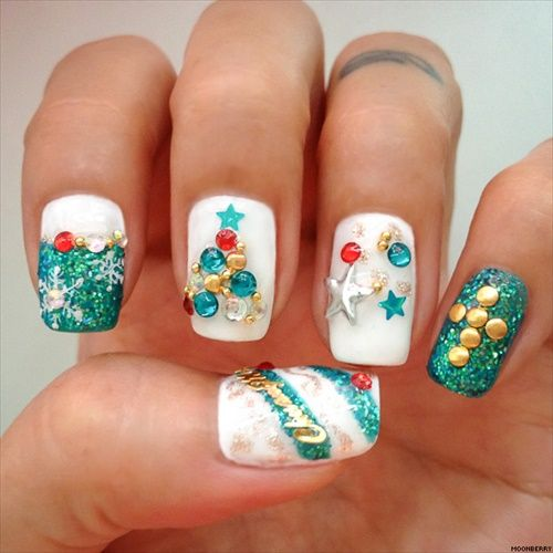 I Am Going To Show 15 Amazing Christmas Nails Design That You Must