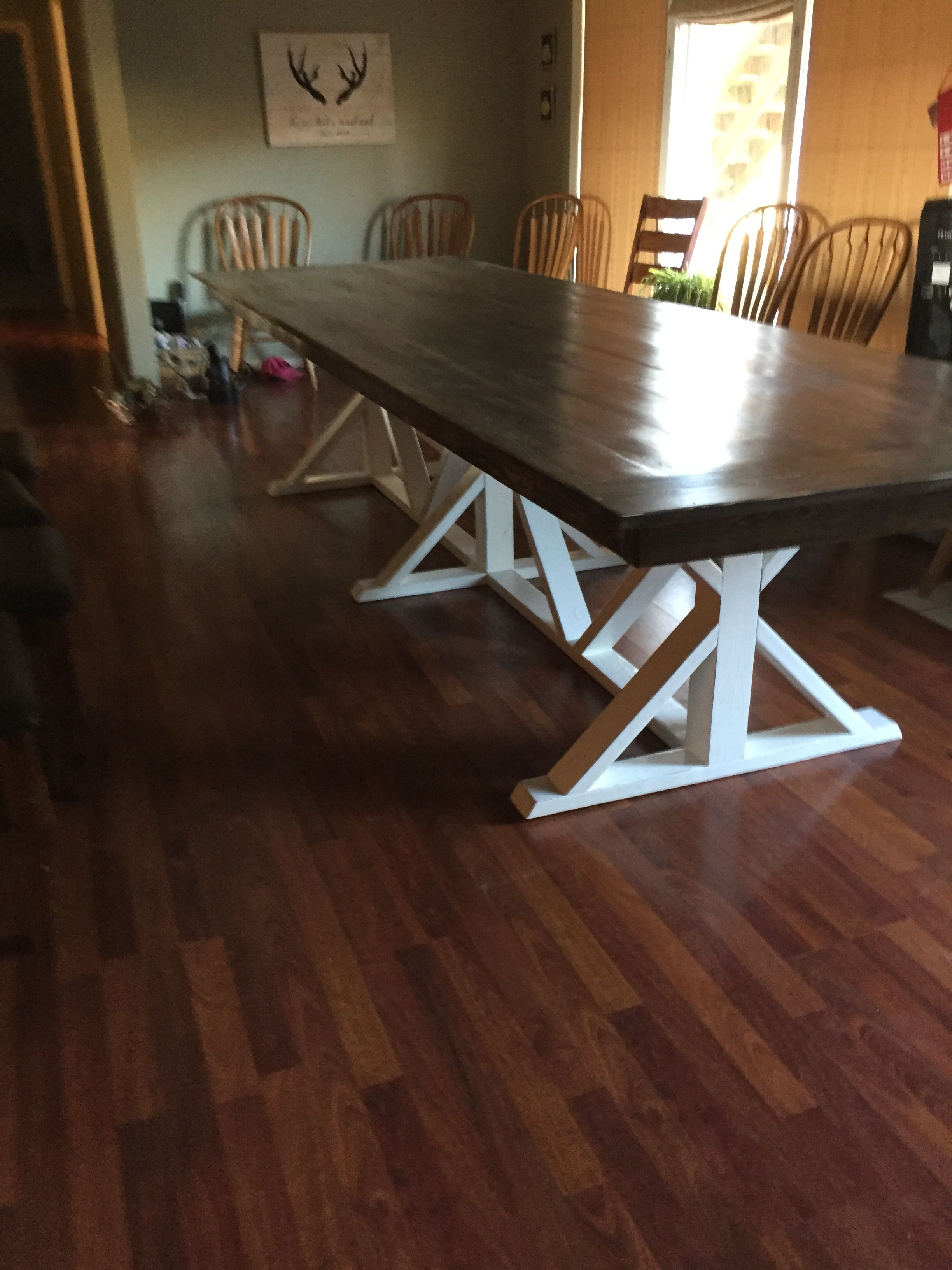 12 Ft Farmhouse Dining Table