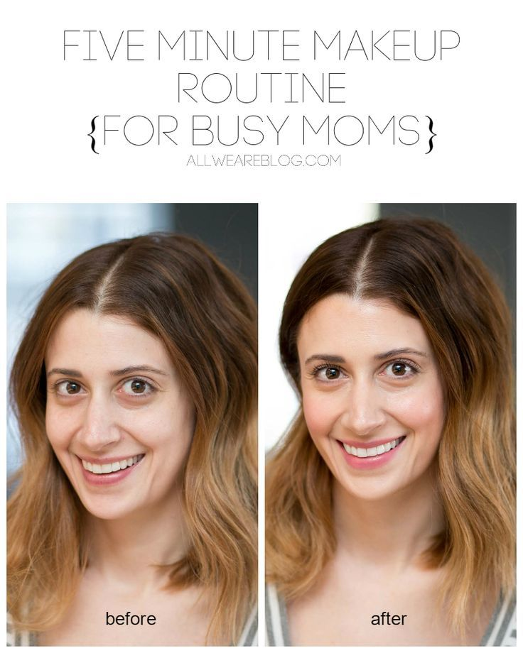 Five Minute Makeup Routine for Busy Moms simple makeup routine quick makeup tutorial easy makeup tips for moms mom friendly beauty tips beauty tips for moms ...