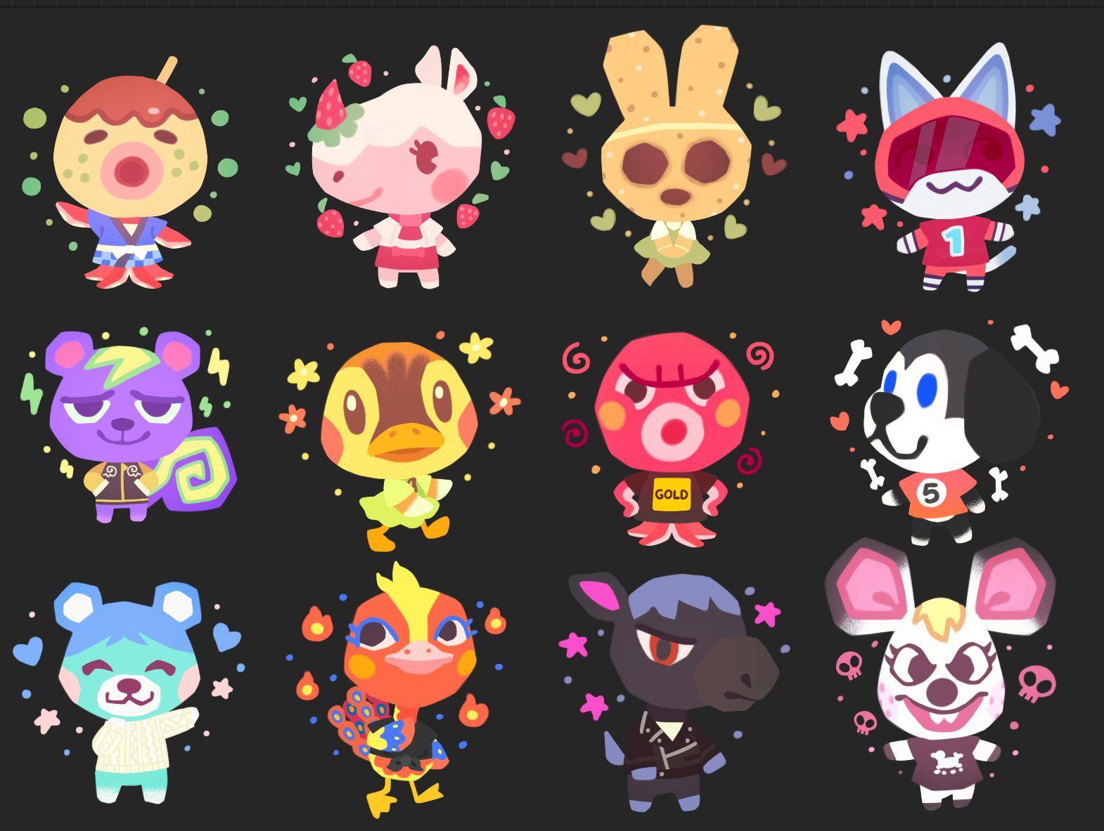 Wren On Twitter Animal Crossing Fan Art Animal Crossing Characters Animal Crossing Villagers