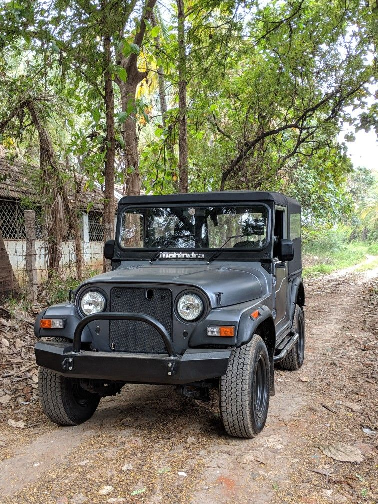 1989 Mm540 Modified Like A Thar Jeep Mahindra Jeep Jeep Cars
