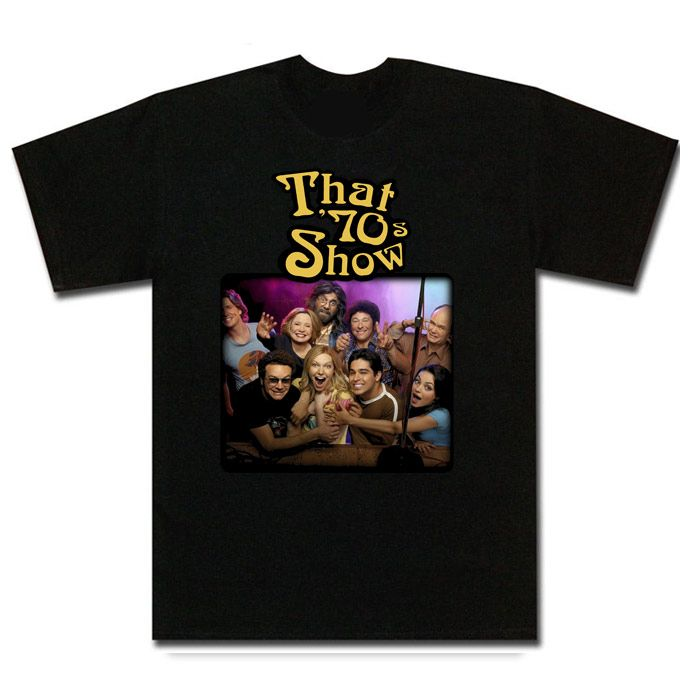 That /'70s Show TV Series TV Show Men/'s Black T-Shirt Size S to 3XL