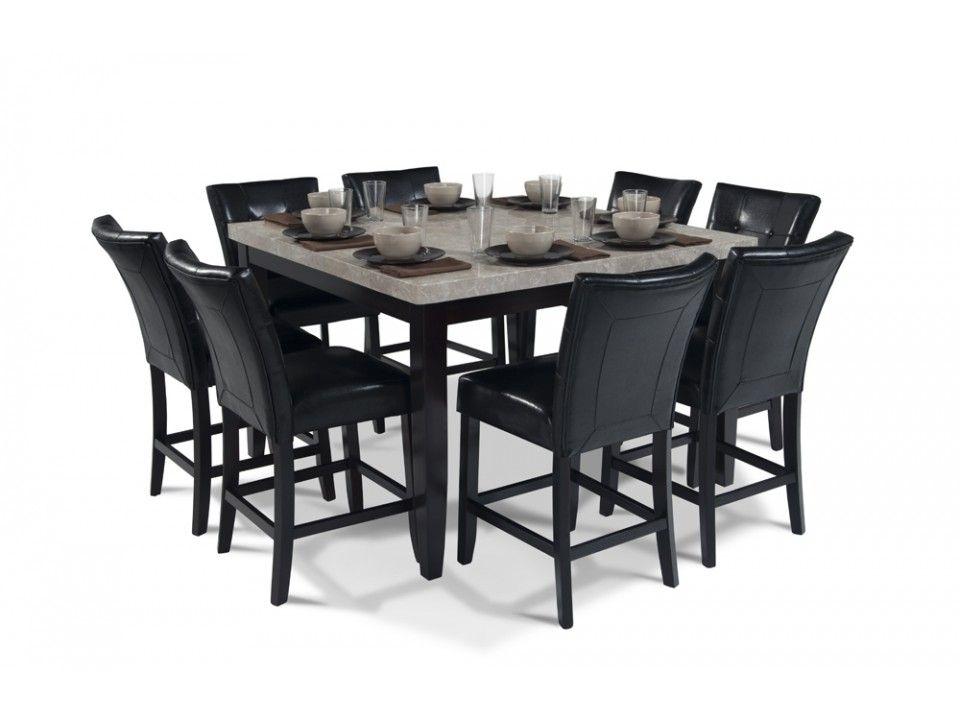 "discount dining room | Montibello 54"" x 54"" Pub 9 Piece Set | Dining Room Sets ..."