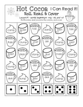 Hot cocoa i can read it roll read and cover lesson 19 words hot cocoa i can read it roll read and cover lesson 19 sciox Gallery