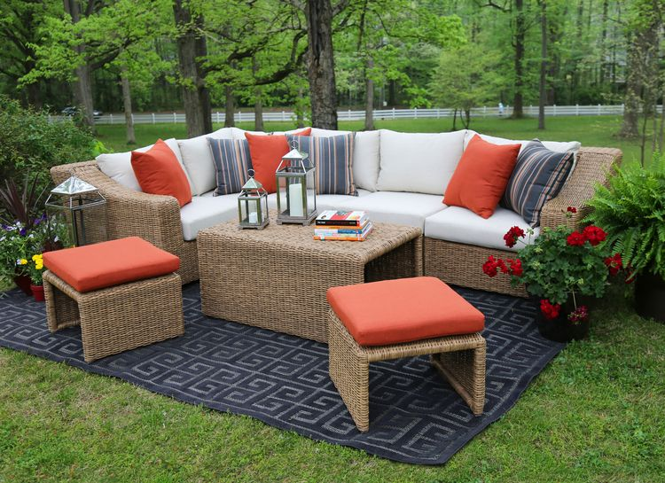 Arizona Sectional Ae Outdoor Not Your Grandma S Patio