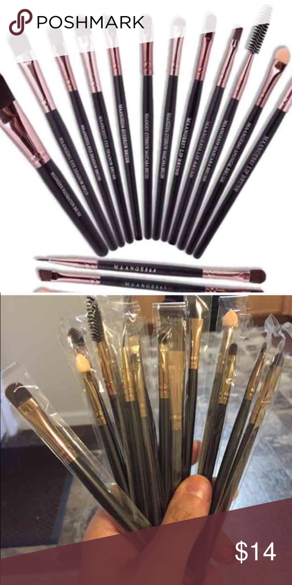 Makeup brushes Very nice professional makeup brushes 14 brush brand new Makeup Brushes & Tools