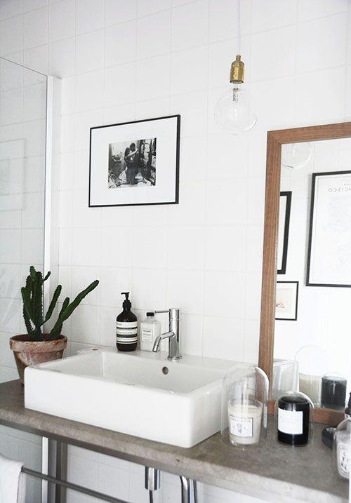 Waschbecken Mit Steinplatte Einrichten Badezimmer Bad Und