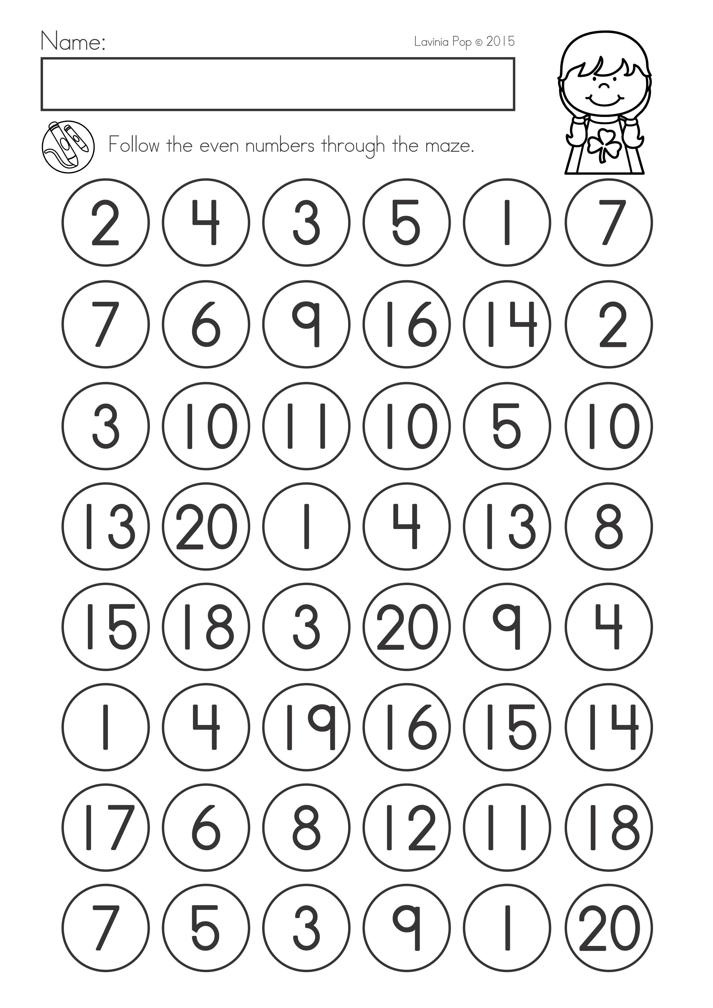St Patrick S Day Math Literacy Worksheets Activities No Prep Literacy Worksheets Math Literacy Do A Dot [ 3508 x 2482 Pixel ]