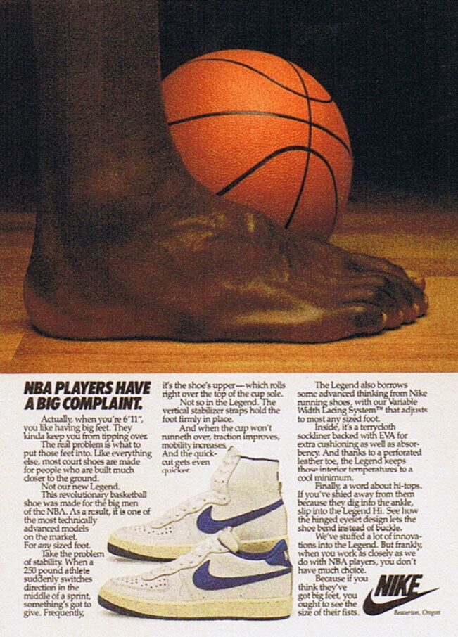 Pin By Thehoopbeast On Vintage Sneaker Ads Nike Poster Vintage Nike