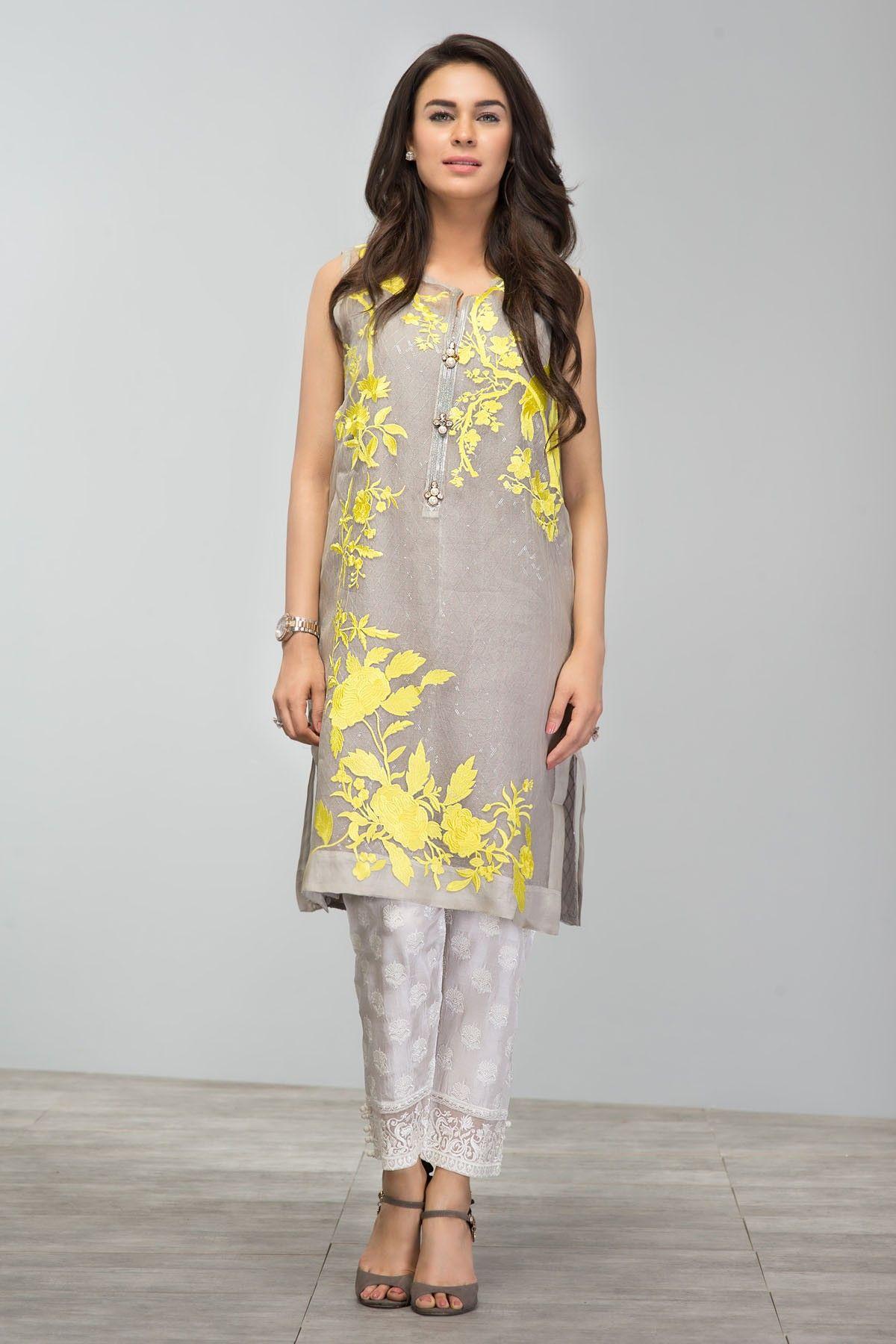 Khaadi - Embroidered Kurta - Khaas | Pretty Pakistan | Pinterest ...
