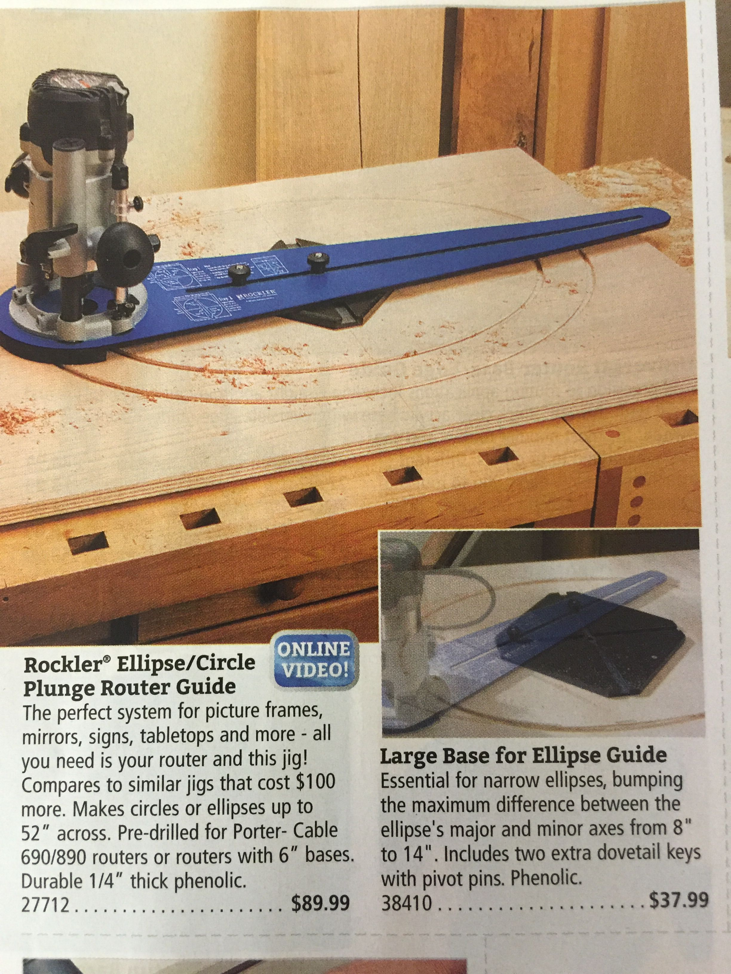 Eclipse Jig For Router Definitely Could Make Your Own Picture Frames Jig