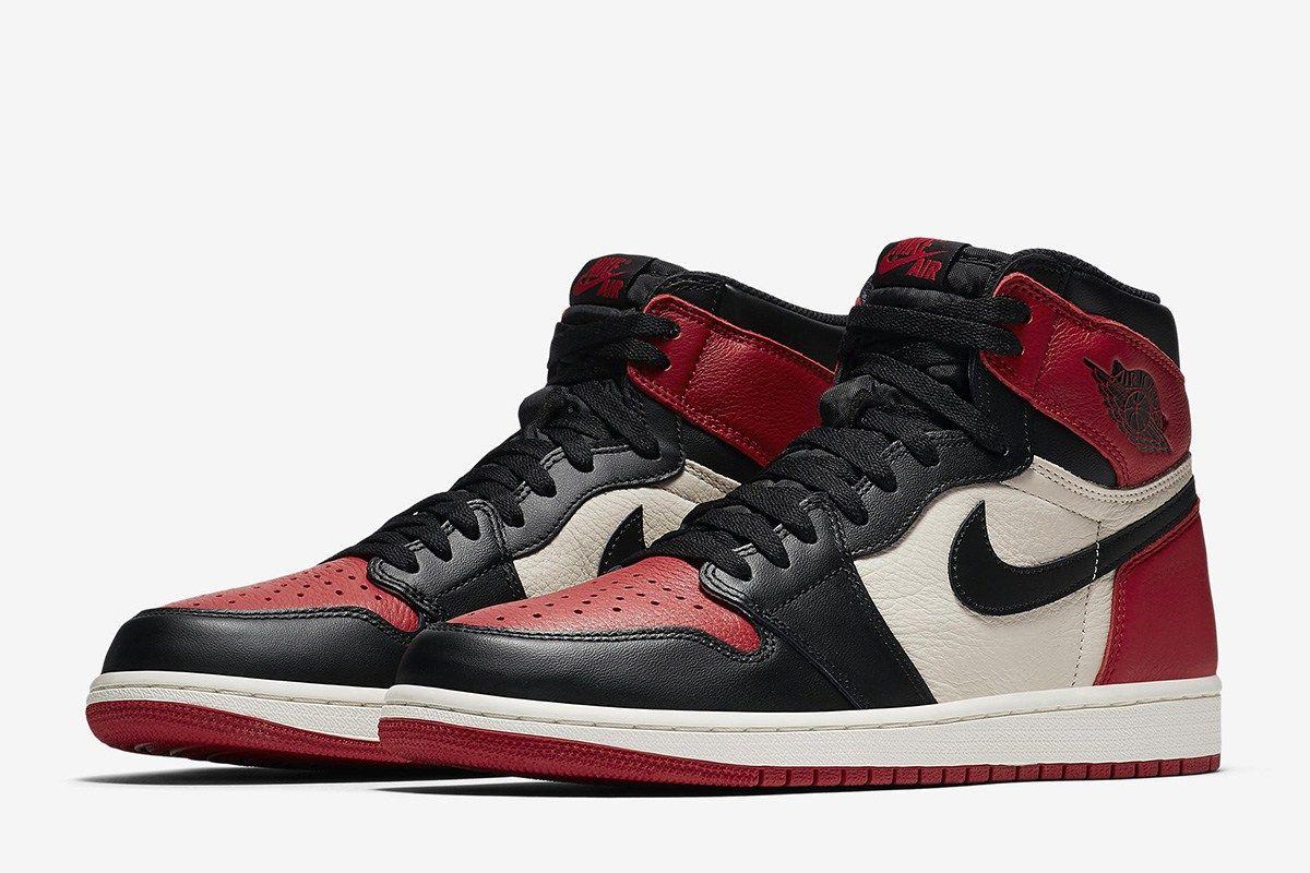 Release Date Air Jordan 1 Retro Hi Og Bred Toe Air Jordans