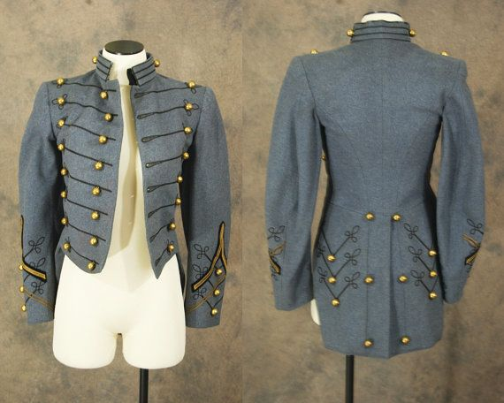antique Military Coat - 1910s West Point Cadet Tailcoat - Blue ...